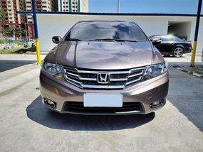 Brown Honda City 2012 Automatic Gasoline for sale