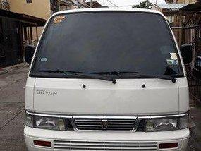 White Nissan Urvan 2013 for sale in Las Pinas