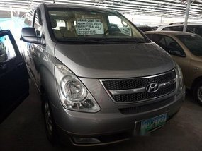 Silver Hyundai Grand Starex 2012 for sale in Las Pinas
