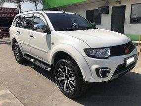 White Mitsubishi Montero Sport 2013 Automatic Diesel for sale