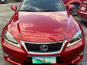 Red Lexus Is 350 2013 for sale in Pasig