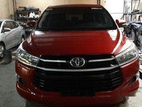 Red Toyota Innova 2017 for sale in Marikina