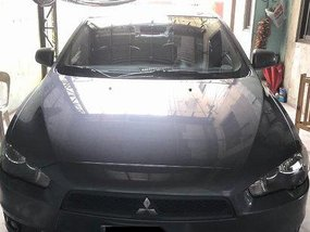 Grey Mitsubishi Lancer Ex 2010 Automatic Gasoline for sale
