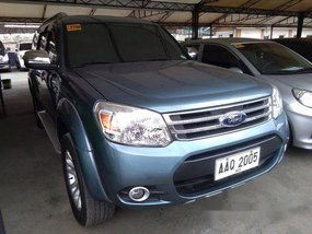 Blue Ford Everest 2014 for sale in Cainta