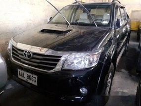 Selling Black Toyota Hilux 2014 Automatic Diesel at 58000 km