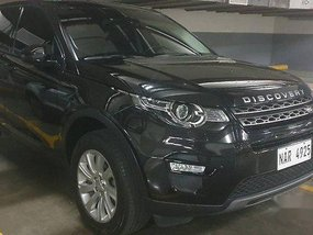 Black Land Rover Discovery 2016 for sale in Parañaque