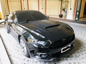 Sell Black 2015 Ford Mustang Automatic Gasoline at 8000 km