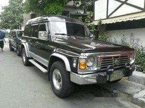 Selling Black Nissan Patrol 1996 Manual Diesel at 140000 km