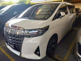 White Toyota Alphard 2020 for sale in Quezon City