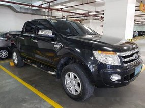 Selling Black Ford Ranger 2014 Automatic Diesel at 76100 km
