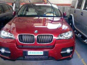Red BMW X6 2014 for sale in Pasig