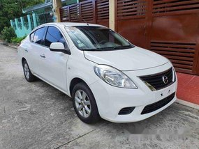 White Nissan Almera 2014 Automatic Gasoline for sale