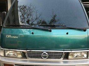 Green Nissan Urvan 2014 Manual Diesel for sale