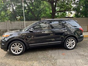 Black Ford Explorer 2014 at 35000 for sale in Manila