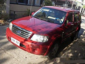 Red Ford Escape 2006 Automatic Gasoline for sale