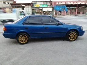 Selling Blue Toyota Corolla 2000 Manual Gasoline at 100000 km