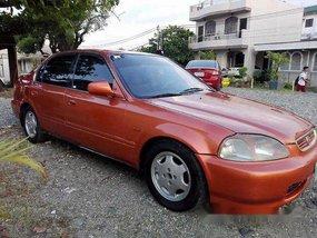 Sell Orange 1997 Honda Civic Automatic Gasoline at 84000 km