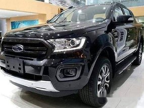 Selling Black Ford Ranger 2019 in Quezon City