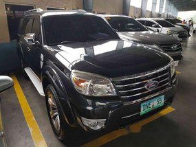 Black Ford Everest 2011 for sale in Pasig