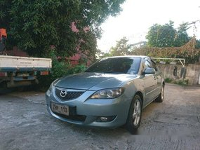 Selling Grey Mazda 3 2007 at 120000 km