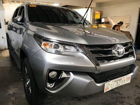 Silver Toyota Fortuner 2019 for sale in Quezon City