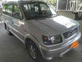 White Mitsubishi Adventure 2000 at 147160 km for sale