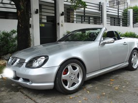 Used Mercedes-Benz SLK 320 2002 Automatic Gasoline for sale