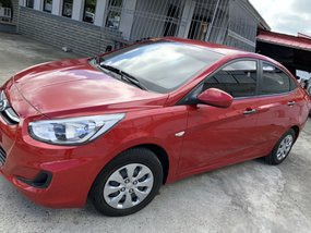 Red Hyundai Accent 2018 1.4 GL automatic