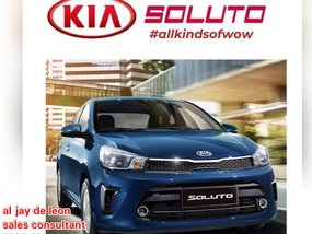 Brand New Kia Soluto 2020 Manual Gasoline for sale