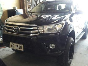 Black Toyota Hilux 2016 for sale in Makati