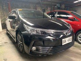 Selling Black Toyota Altis 2018 in Quezon City