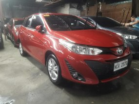 Selling Red Toyota Yaris 2018 in Quezon City