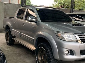 2nd-hand Toyota Hilux 2015 for sale in Navotas