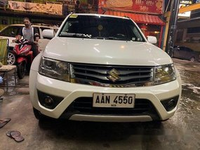 White Suzuki Grand Vitara 2014 Automatic Gasoline for sale