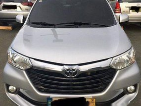 Silver Toyota Avanza 2016 Automatic Gasoline for sale