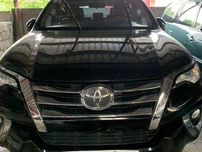 Sell Black 2017 Toyota Fortuner in Quezon City