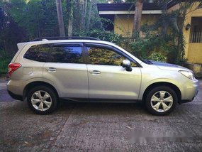 Sell Silver 2016 Subaru Forester in Muntinlupa