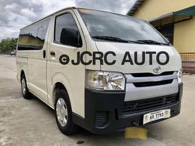 Sell White 2019 Toyota Hiace Manual Diesel