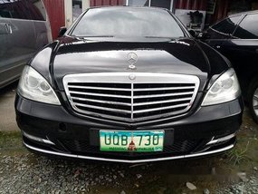 Selling Black Mercedes-Benz S-Class 2013 Automatic Gasoline at 50000 km