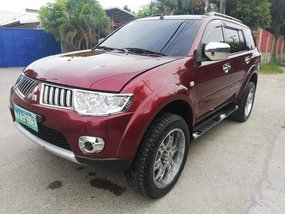 Selling Red Mitsubishi Montero Sport 2011 Automatic Diesel