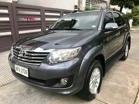 Sell Grey 2014 Toyota Fortuner Automatic Gasoline at 60000 km