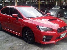 Red Subaru Wrx 2014 Sedan for sale in Pasig