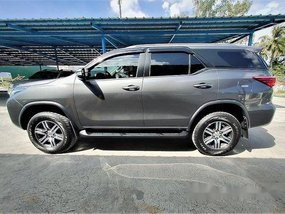 Black Toyota Fortuner 2016 at 13000 km for sale