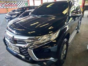 Selling Black Mitsubishi Montero Sport 2017 in Quezon City