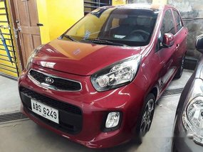 Red Kia Picanto 2015 for sale in Antipolo