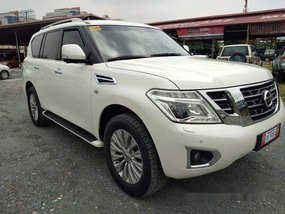 White Nissan Patrol 2016 at 12000 km for sale