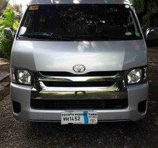 Silver Toyota Hiace 2017 at 65000 km for sale
