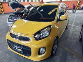Selling Yellow Kia Picanto 2016 Manual Gasoline