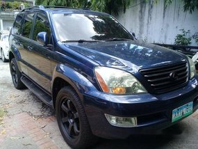 Selling Blue Lexus Gx 2003 at 53000 km