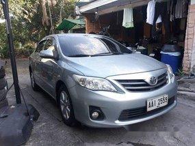 Silver Toyota Corolla altis 2014 for sale